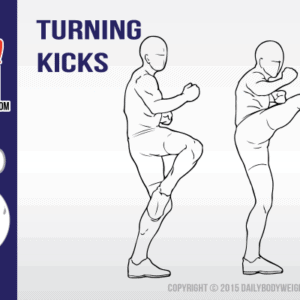 Lower Body Bodyweight Exercise – Turning Kicks