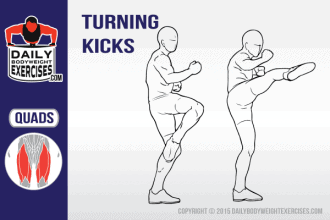 best bodyweight exercises, turning kicks, Best men workout plans ideas, turning kick, quads, cardiovascular strength exercises