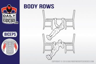 how to perform body rows