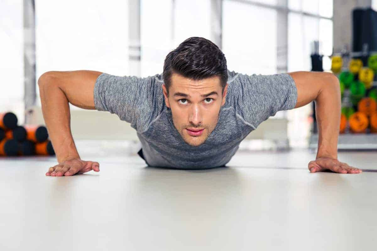 body weight begginers push-up