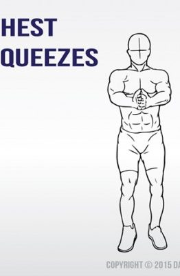 how to perform the chest squeeze