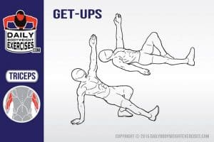 how to perform bodyweight Turkish get ups
