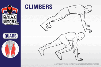 how to perform mountain climbers