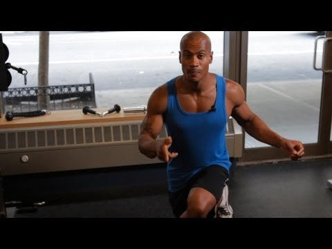 bodyweight back exercise, bodyweight exercises, bodyweight workout, body weight exercises crossover reverse lunge