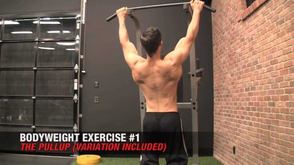 pull-ups are among the best body weight exercises for men