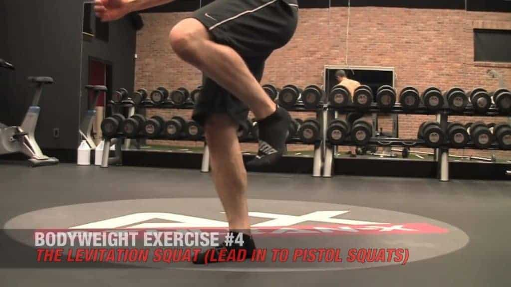 the levitation squat is among the best body weight exercises for men