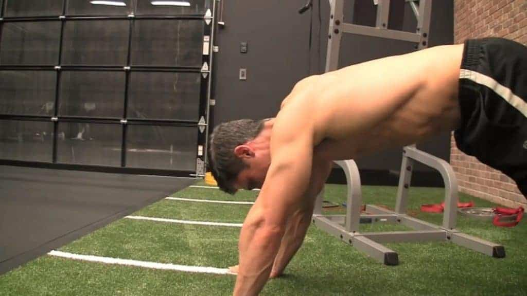 the divebomber squat is among the best bodyweight exercises for men