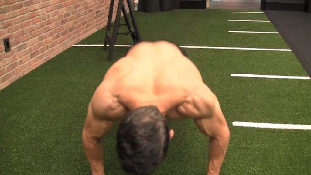 the kick-through burpee is among the best bodyweight exercises for men