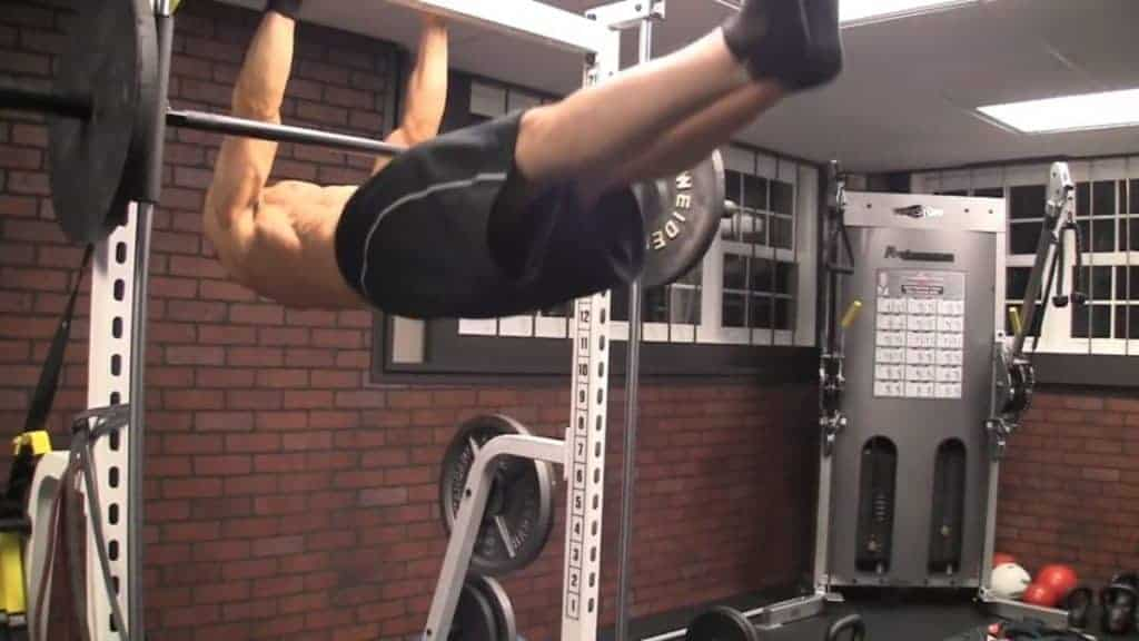 the front lever is among the best body weight exercises for men