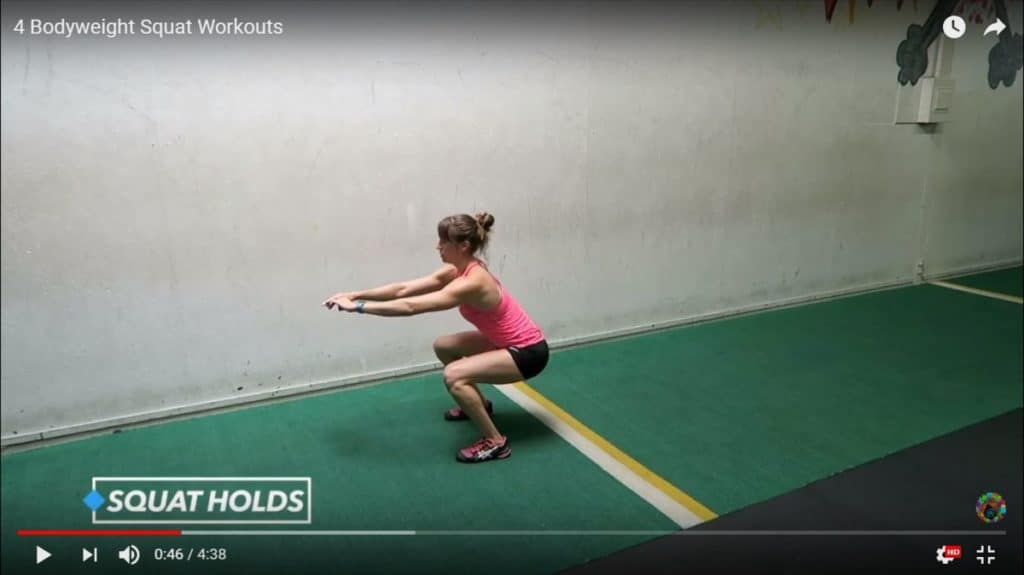 bodyweight squat workouts