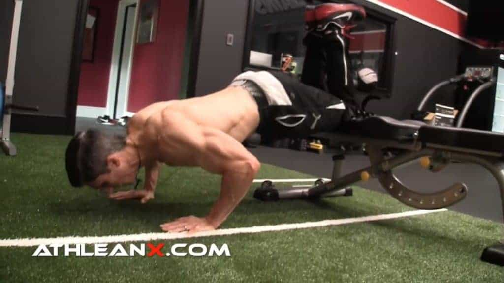 decline pushups for your bodyweight chest workout