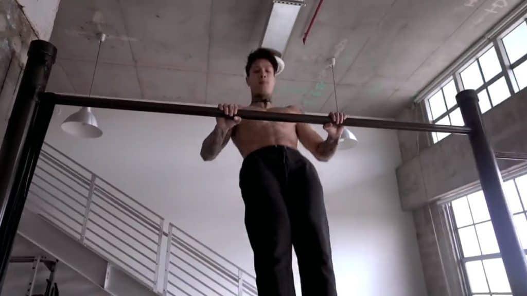 bodyweight high pull-ups