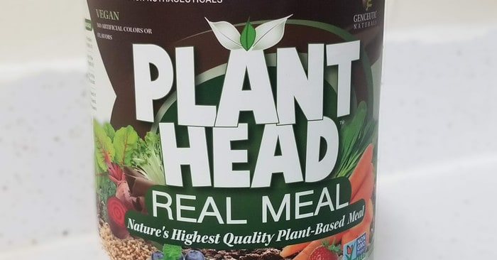 Genceutic Naturals Chocolate Plant Head Real Meal