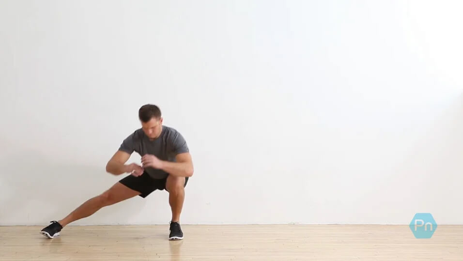 Alternating Lateral Lunge Walk