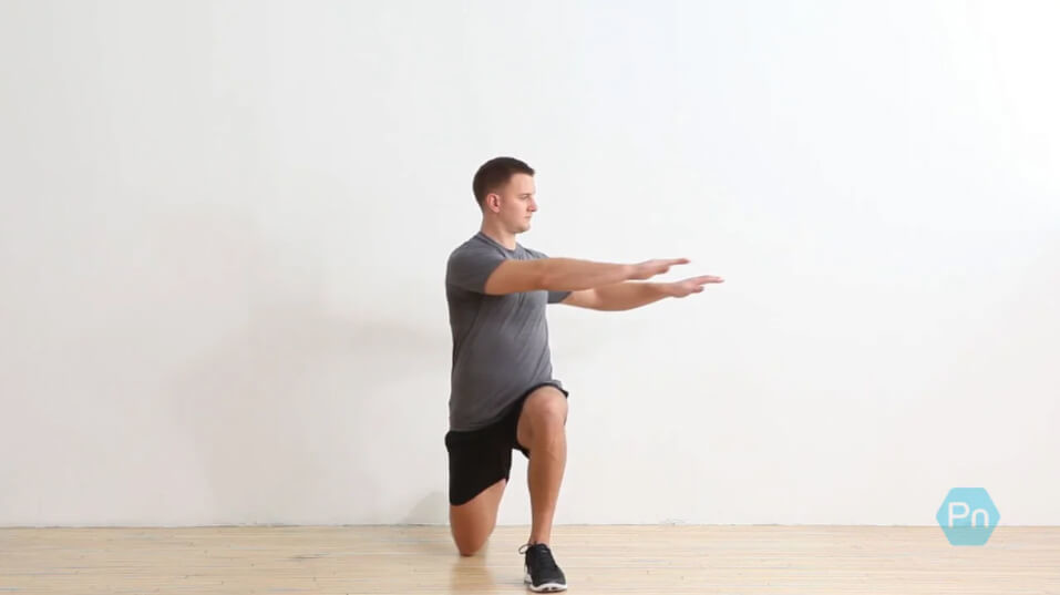 Reverse Lunge With Posterolateral Reach