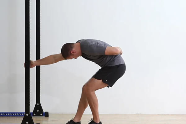 Staggered-Stance Deep Squat Breathing