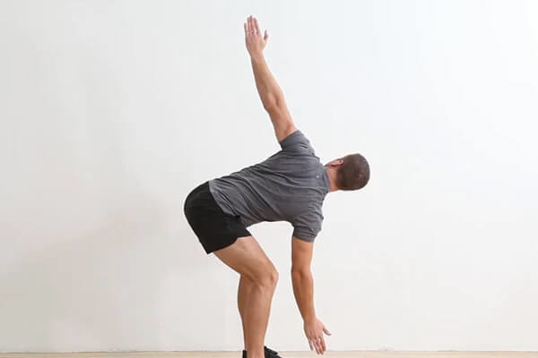 Standing Thoracic Extension Rotation
