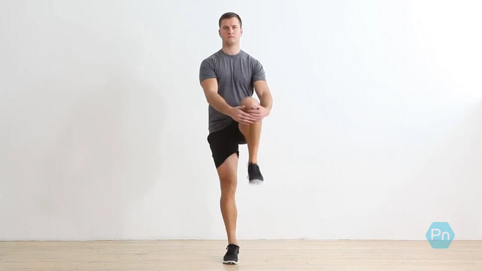 Walking Knee to Chest