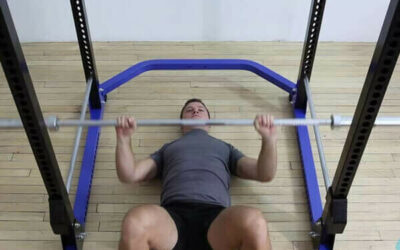 Single-Arm Standing Split-Stance Cable Press